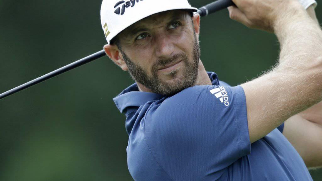 Dustin Johnson sitzt wieder auf dem Thron der Golfprofis
