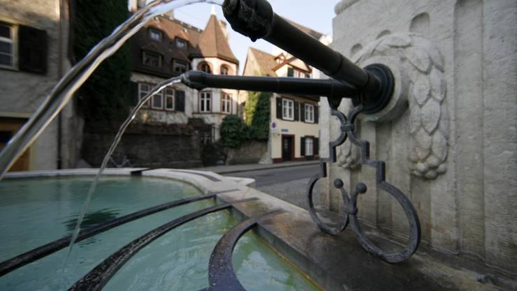 Der St. Alban Brunnen in Basel