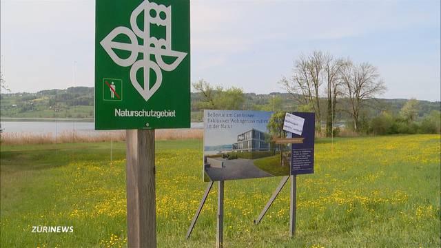 Strafanzeige: Greifensee-PR-Gag verstösst selbst gegen Naturschutz