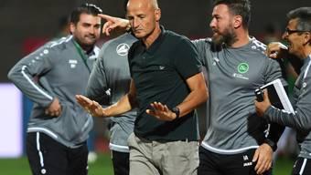 St. Gallens Trainer Peter Zeidler tritt vor dem Heimspiel gegen Sion auf die Euphoriebremse
