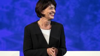 Doris Leuthard, 57, arbeitete in einem UNO-Gremium mit.