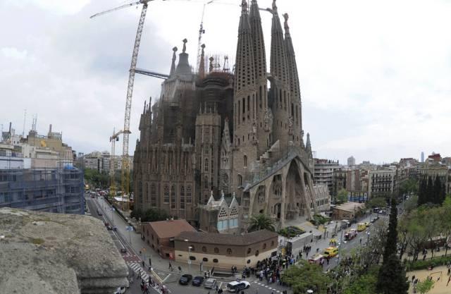 Gaudís Sagrada Familia soll 2026 vollendet sein