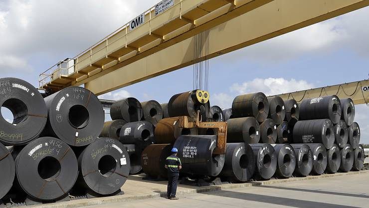 Von den US-Strafzöllen ist auch die Stahlindustrie betroffen. (Symbolbild)