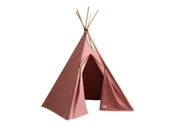 Für kleine Indianer: Zelt von Nobodinoz, zirka 155 Fr., unter anderem bei mylittleroom.ch .