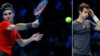 Roger Federer deklassiert Andy Murray