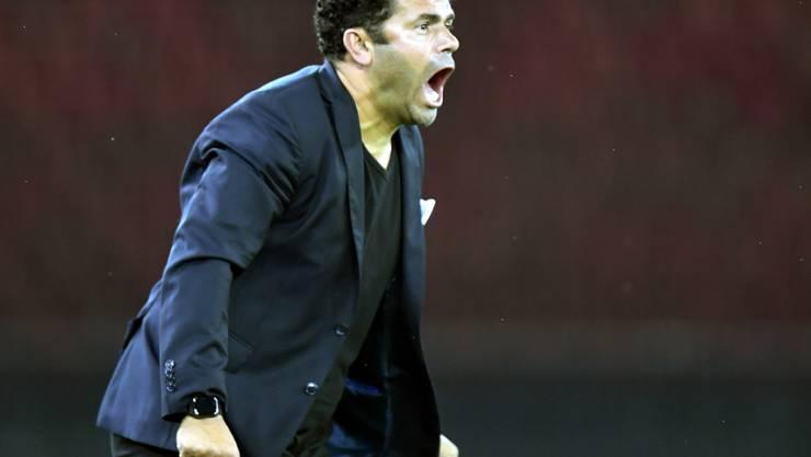 GC-Trainer Uli Forte erlebte im Südtessin einen aufregenden Sonntagnachmittag