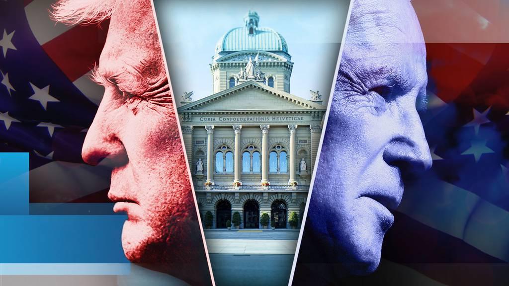 Donald Trump oder Joe Biden: Wer tut der Schweiz besser?