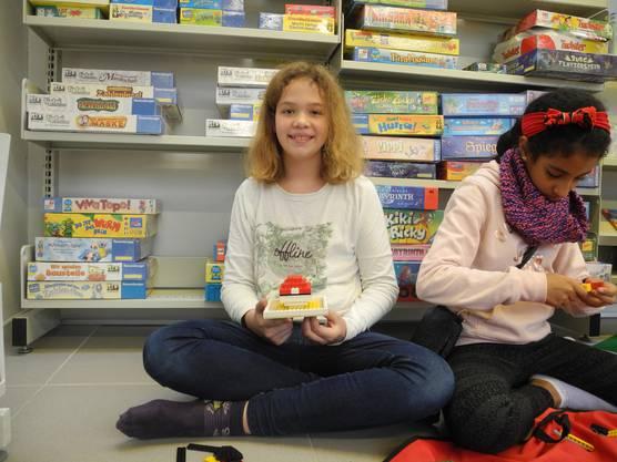 «Aus den Lego-Teilen habe ich einen Pokemon-Ball gebaut.»