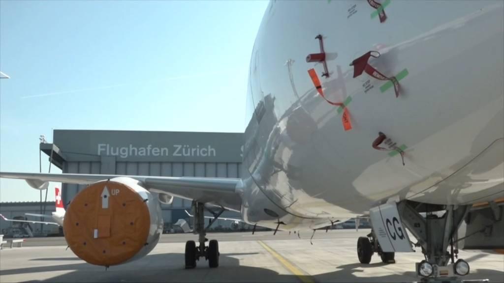 Flughafen Zürich: Historischer Verlust im Corona-Jahr 2020