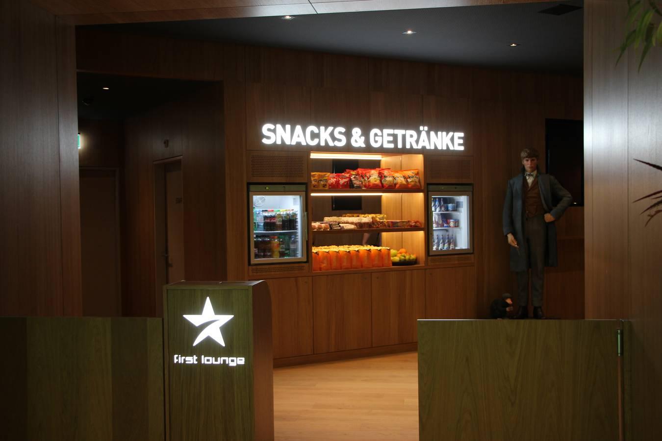 Snacks und Getränke à discrétion (© FM1Today)