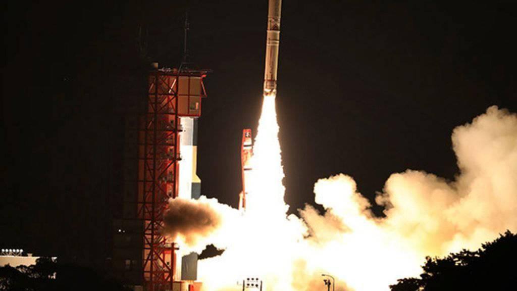 So gross wie ein Laternenpfosten: Mini-Rakete bringt Japan keinen Erfolg. (Symbolbild)