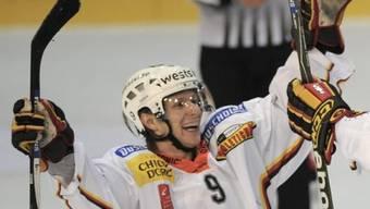 Berns Simon Gamache schoss das Game-Winning-Goal