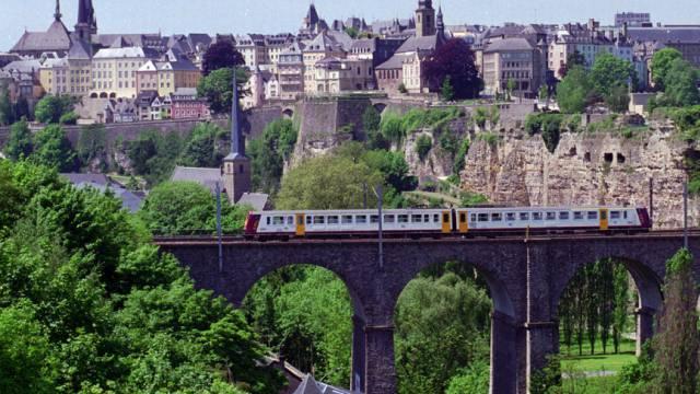 Blick auf Luxemburgs Altstadt (Archiv)