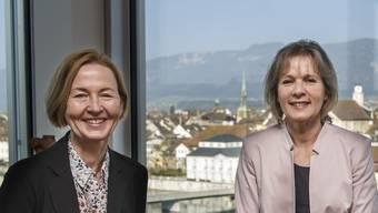 Die Jungpartei der Grünen setzt sich für die Regierungsratskandidatinnen Susanne Schaggner und Birgit Wyss ein.
