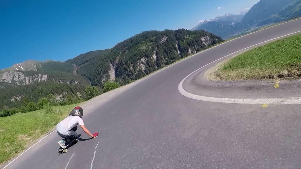Die Longboard-Downhill-Nati beim WM-Training