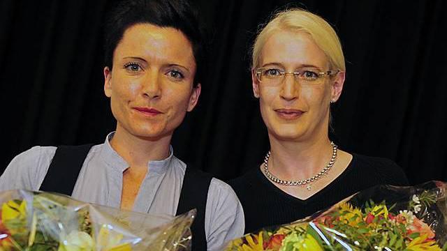 Beatrice Reimann und Andrea Sprecher