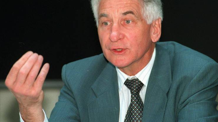 Der ehemalige ETH-Präsident Jakob Nüesch ist 83-jährig gestorben. (Archiv)