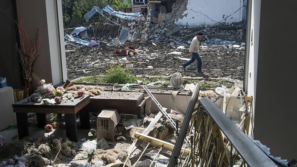 Tote und Verletzte bei neuen Kämpfen in Berg-Karabach