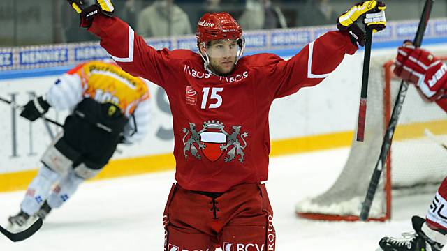 Gian-Andrea Randegger traf gleich zweimal bei Lausannes Sieg