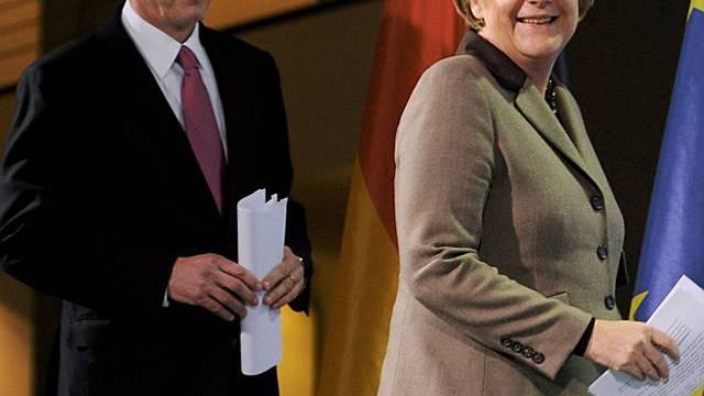 Papandreou und Merkel betonen die Freundschaft der Länder
