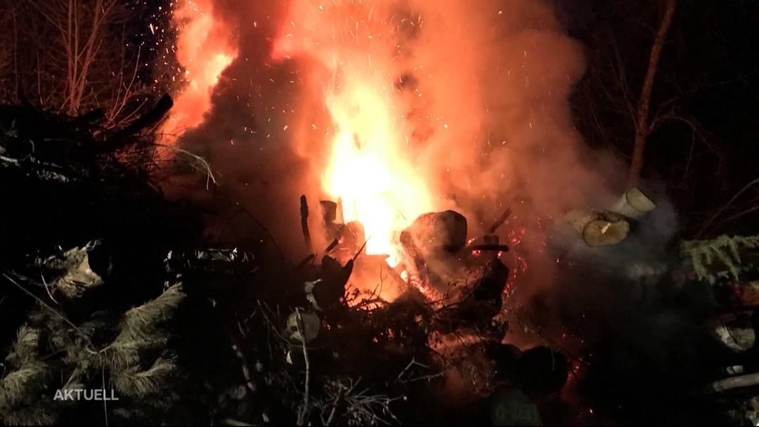 Feuerteufel im Solothurnischen unterwegs