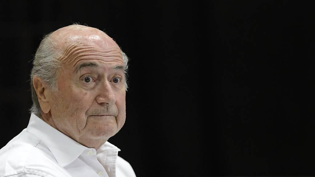 Sepp Blatter gehört zur Risikogruppe.