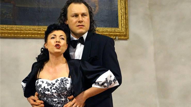 Petra Elmer und Roman W. Bolinger treten zusammen als «Voci Eleganti» auf. Ursula Burgherr