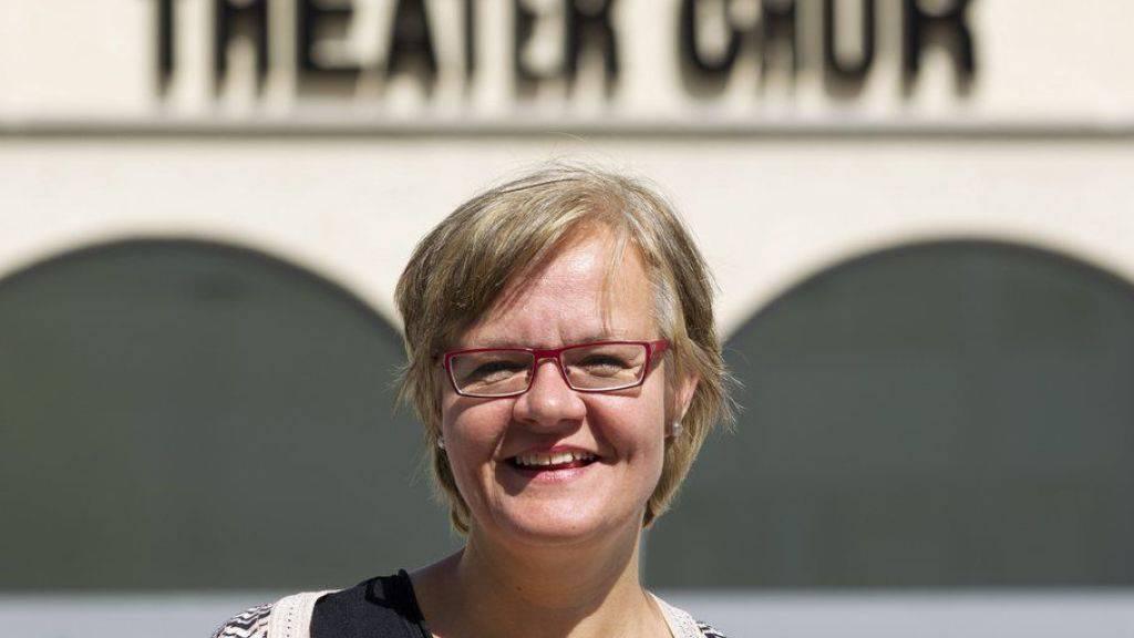 Direktorin Ute Haferburg will das Theater Chur auf Ende Spielzeit 2019/20 verlassen. Zehn Jahre, findet sie, ist genug. (Archivbild)