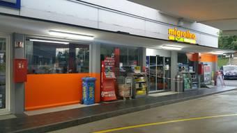 Der zur Migrol-Tankstelle zugehörige Migrolino wurde überfallen.