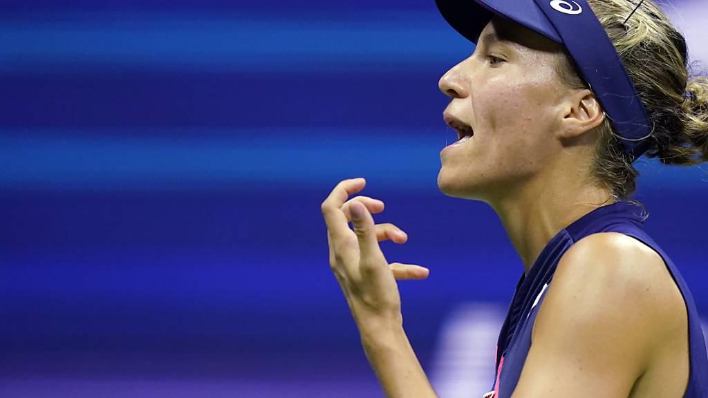 Viktorija Golubic ärgert sich über die verpasste Chance. (Archivaufnahme)