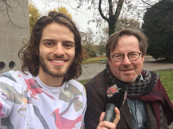 Christof Zingg arbeitet beim Hilfswerk von Pfarrer Ernst Sieber