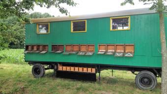 Dieser Bienenwagen von David Studer ist spurlos verschwunden.