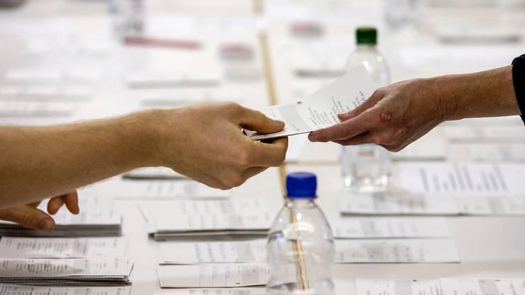 Auszählung der Stimmzettel: In seltenen Fällen handelt es sich um Stimmenfang.