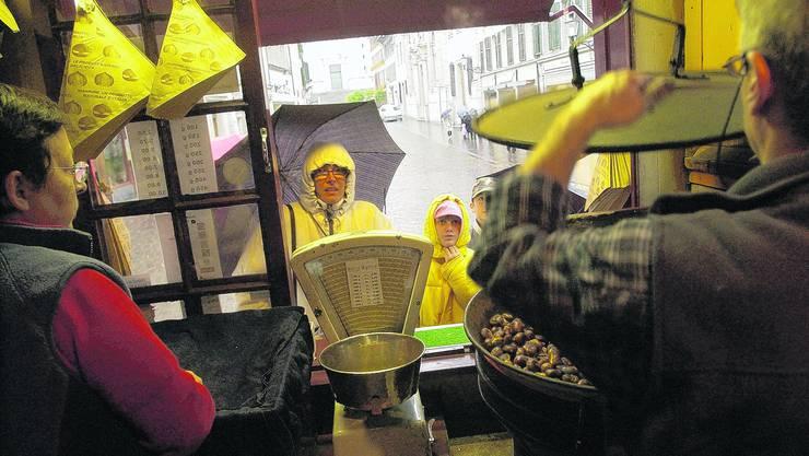 Ausgesprochen nass präsentierte sich die letzte Woche 2009. Die rund 65 Liter Regen pro Quadratmeter zwischen dem Stephanstag und Silvester konnten jedoch das viel zu trockene Jahr nicht mehr «retten». (Bild: Hanspeter Bärtschi)