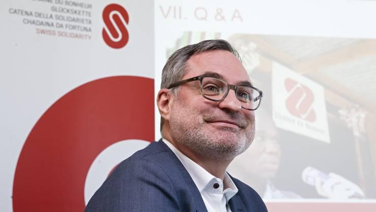 Glückskette-Direktor Roland Thomman ruft am 22. Oktober zur grenzüberschreitenden Solidarität auf. (Symbolbild)