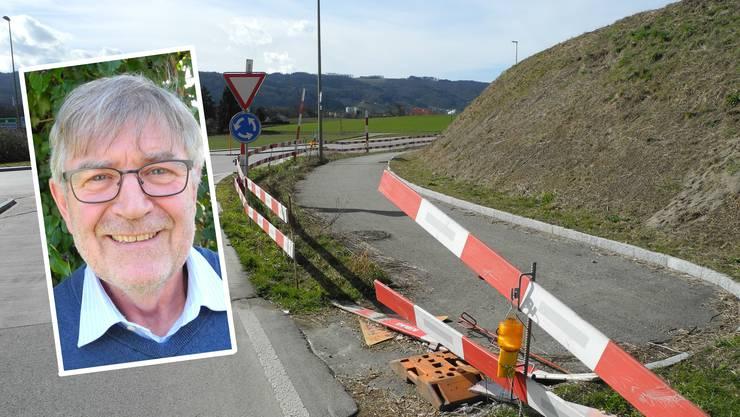 """""""Es geht um Diebstahl durch den Staat"""", sagt Einsprecher Walter Bühler."""