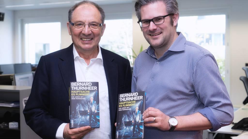 «Hauptsache, es flimmert»: Beni Thurnheer veröffentlicht weiteres Buch