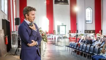 Gastreferent Ernst Kohler, CEO Rega