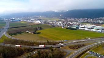 Das Logistikzentrum der Schweiz: Im Gäu könnten gleich mehrere sogenannte «Hubs» als Ladestationen entstehen. Wo genau dies geschehen soll, ist bisher noch nicht bekannt.