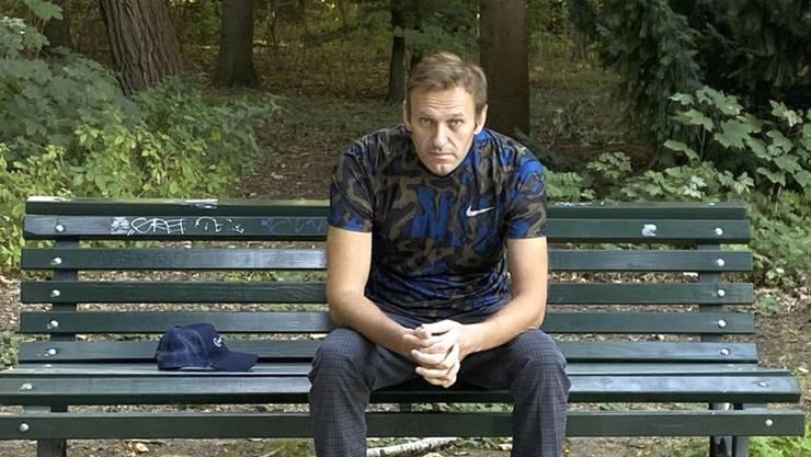 «Ich nerve mich einfach darüber, dass wir Steuerzahler dafür zahlen, dass Herr Nawalny hier ein riesiges Polizeiaufgebot bekommt», sagt ein Einwohner.