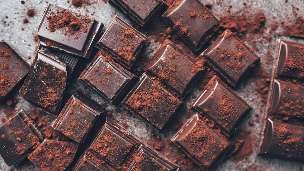 Als Dankeschön gibt es Schokolade
