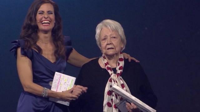 Irma Koch wird Aargauerin des Jahres 2014.