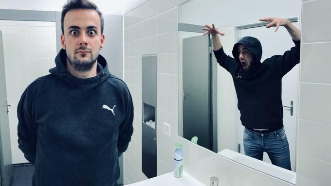 So macht ihr ein «Mirror-Panorama Selfie»