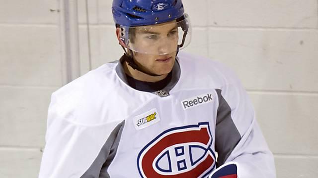 Wieder auf dem Eis, aber noch nicht im Spiel: Yannick Weber