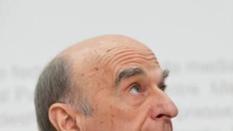 Tritt auf die Sparbremse: Finanzminister Hans-Rudolf Merz.