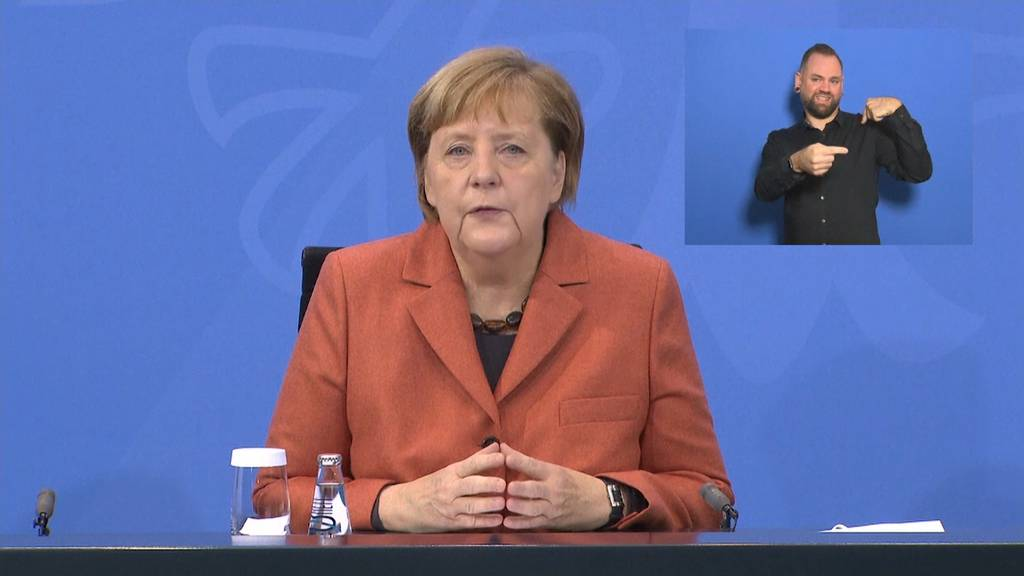 Deutschland beschliesst harten Lockdown ab Mittwoch
