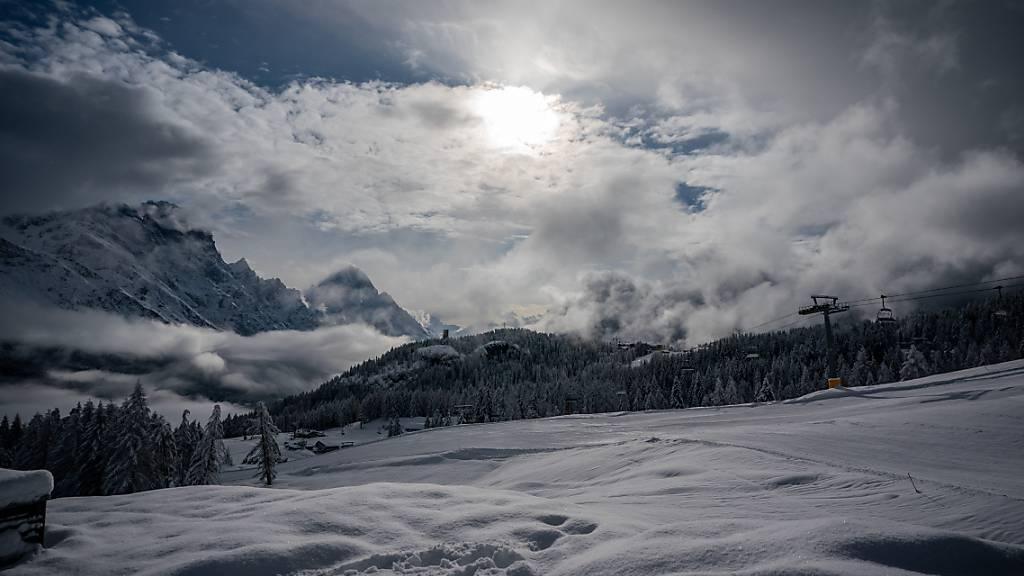 Skibetriebe in Teilen Italiens erwarten Öffnung ab Montag