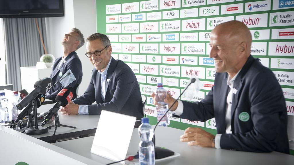 Der FC St.Gallen setzt weiter auf Leidenschaft