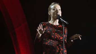 Olivia Wilde spricht im September 2016 am Global Citizen in New York. Am 15. Oktober hat sie ihre Tochter   Daisy Josephine zur Welt gebracht (Archiv)