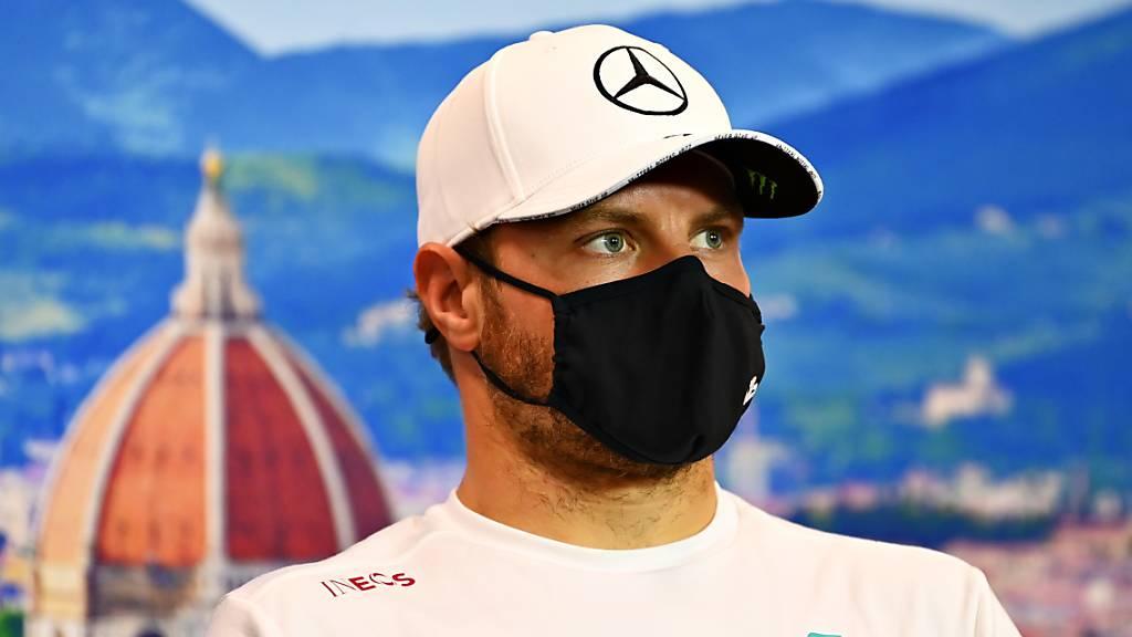 Bestzeit für Bottas vor Hamilton